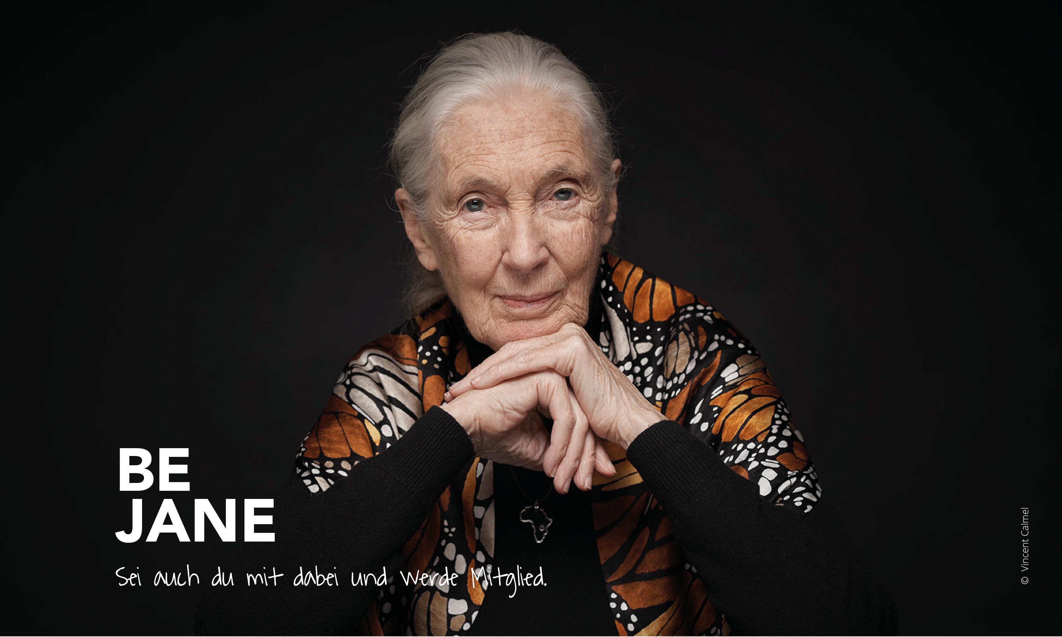 Jane Goodall Institut - Austria _ #BeJane - kampagne 2019