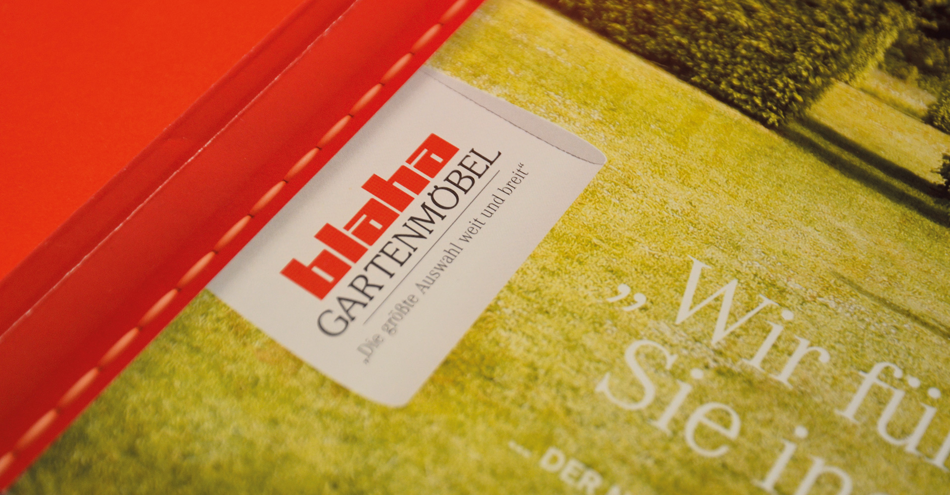 BLAHA Gartenmöbel _ corporate design